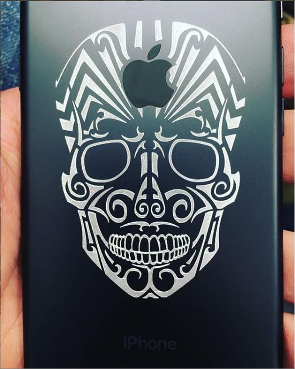 iPhone Engraving